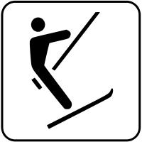 Skilift in Jossgrund Oberndorf